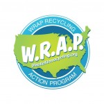 WRAP logo plastic film recycling