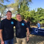 Bill Carteaux and Steve Russell at Ocean Conservancy Check-In Table