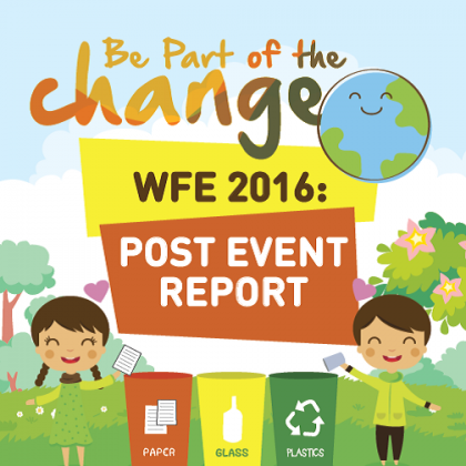 Be Part of the Change Post Event Report Cover