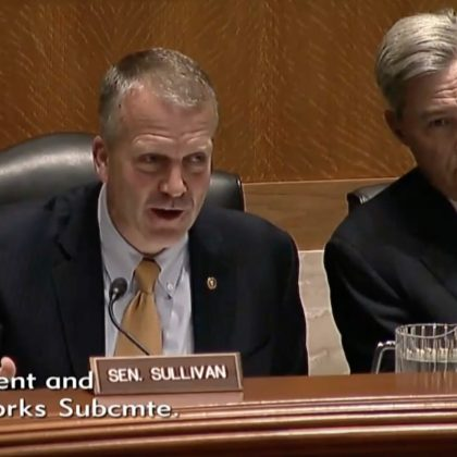 Senator Sullivan Environment and Public Works Subcommittee