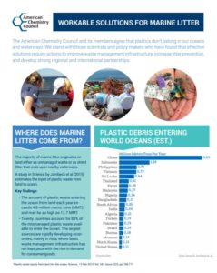 Workable Solutions for Marine Litter