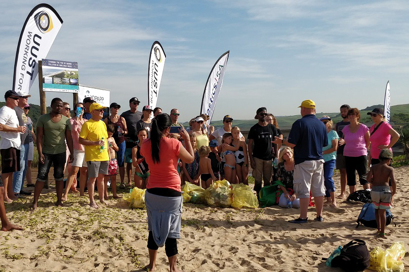 Plastics SA hosts four clean-up projects