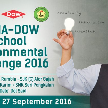 MPMA-DOW School Environmental Challenge Banner